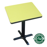 "Correll Bar and Cafe Breakroom Table Square 36"" - BXT36S"