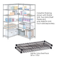 "Safco Extra Shelves Shelving Units 36""W x 18""D (2-pack) - 5287"