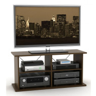 Atlantic Duo TV and Audio Stand In Mocha - 88335749