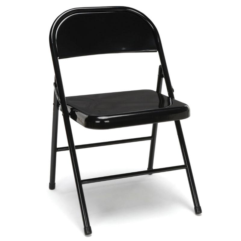 Super Ofm Essentials Metal Folding Chairs Black 4 Pack Ess 8200 Blk Inzonedesignstudio Interior Chair Design Inzonedesignstudiocom