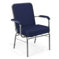 OFM Big and Tall Arm Stacking Chair 500 lbs. Capacity (3 pack) - 300-XL-3PK