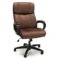 OFM Essentials Plush High Back Microfiber Office Chair Brown - ESS-3081-BRN