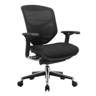 Eurotech by Raynor Concept 2.0 Black Mesh Chair - CONCEPT2.0