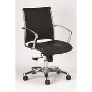 Eurotech by Raynor Europa Leather Mid Back Chair - LE822