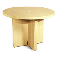 "Mayline Aberdeen Conference Table Round 42"" Maple - ACTR42-LMA"
