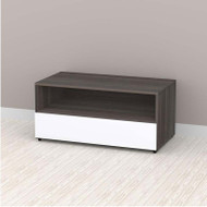 """Nexera Allure Entertainment Collection 36"""" TV Console - 1 Open Space, 1 Drawer - 221433"""