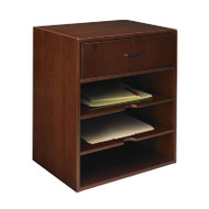 Mayline Sorrento Hutch Organizer, Horizontal Bourbon Cherry - SHH-SCR