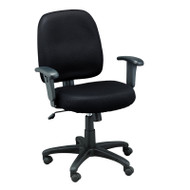 Eurotech by Raynor Newport Fabric Chair Black - FT5241