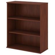 "Bush Business Furniture Bookcase 48""H 3-Shelf Hansen Cherry -  BK4836HC"