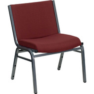 Flash Furniture Hercules Series Big & Tall Burgundy Fabric Stack Chair - XU-60555-BY-GG