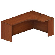 "Mayline Aberdeen Extended Corner Desk Table 72"" Right Cherry Finish - AEC72R-LCR"