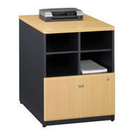 "Bush Business Furniture Series A Storage Cabinet 24"" Beech - WC14323P"
