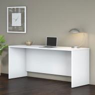 """Bush Business Furniture Studio C Credenza Desk 72"""" White - SCD372WH"""