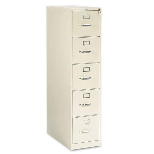 Hon 310 Series 5 Drawer Metal Vertical File Cabinet Letter Size 315p