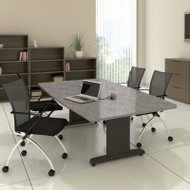 "Mayline CSII Conference Table Rectangle 120"" x 54"" - R125R"
