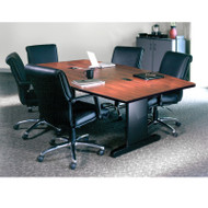 Mayline CSII Conference Table Boat Shaped 84W x 42D x 29H - R84B