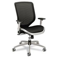 HON Boda Series High-Back Work Chair, Mesh Seat and Back, Black - MH02MST1C