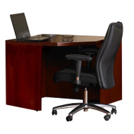 Mayline Mira Corner Table Medium Cherry - MCU243636-MC