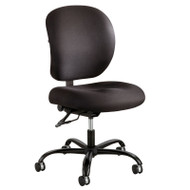Safco Alday 24/7 Black Fabric Task Chair - 3391BL