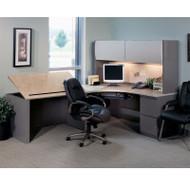 Mayline CSII L-Shaped Desk Package - CSII25