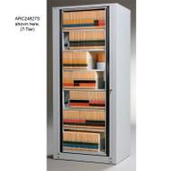 Mayline Arc Rotary File  8-Tier Complete Adder Unit 31.75W X 94H X 26.25D - ARC24938A
