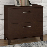 Bush Somerset Collection Lateral File Mocha Cherry - WC81880
