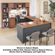 Bush Business Furniture Series C Package Executive U-Shaped Desk - SERIESC1