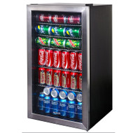 NewAir 126-Can Beverage Cooler Refrigerator - AB-1200