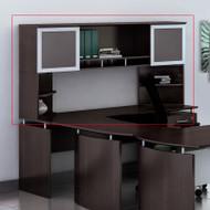 "Mayline Medina Laminate Desk Hutch 72"" Mocha - MNH72-MNPO-LDC"