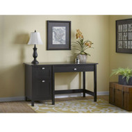 Bush Broadview Collection Single Pedestal Desk - BDD254EO-03