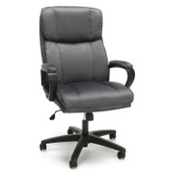 OFM Essentials Plush High Back Microfiber Office Chair Gray - ESS-3081-GRY