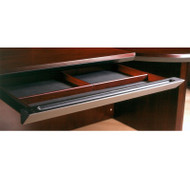 Mayline Corsica Veneer Center Drawer ASSEMBLED Sierra Cherry - CCD-CRY
