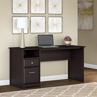 "Bush Cabot Computer Desk with Drawers 60""W Espresso Oak - WC31860-03"