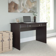 "Bush Cabot Collection Writing Desk 48""W Espresso Oak - WC31818-03"
