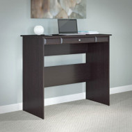 "Bush Cabot Collection Standing Height Desk 48""W Espresso Oak - WC31819-03"