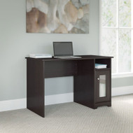 "Bush Cabot Collection Single Pedestal Desk 48""W Espresso Oak - WC31823-03"