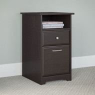 Bush Cabot Collection Pedestal 2-Drawer Espresso Oak - WC31852-03