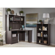 Bush Cabot Collection Corner Desk Package Heather Gray - CAB006HRG