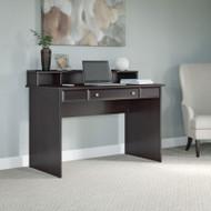 "Bush Cabot Collection Writing Desk with Desktop Organizer 48""W Espresso Oak - CAB025EPO"