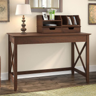 "Bush Key West 48""W Writing Desk with Desktop Organizer - KWS005BC"
