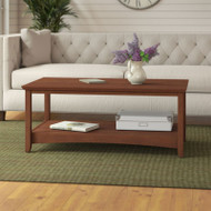 Bush Furniture Buena Vista Coffee Table, Serene Cherry - MY13607-03