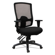 Alera Etros Series High-Back Multifunction with Seat Slide Chair Black - ET4117