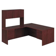 HON 10500 Series L-Shaped Desk Package - 105LRH7284N