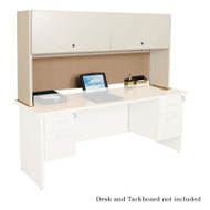 "Marvel Desk Hutch with Flipper Door 72"" - POS72.PFD72"