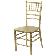 Wooden Chiavari Chair Gold (Set of 4) - WCC4-GLD