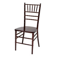 Wooden Chiavari Chair Mahogany (Set of 4) - WCC4-MAH