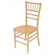 Wooden Chiavari Chair Natural (Set of 4) - WCC4-NAT