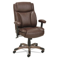 Alera Veon Leather MidBack Manager's Chair Brown - VN5159