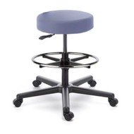 Cramer Fusion Round Stool Mid-Height Foot Activation Vinyl - RSOG1-V