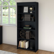 Bush Fairview 5-Shelf Bookcase Antique Black - WC53965-03